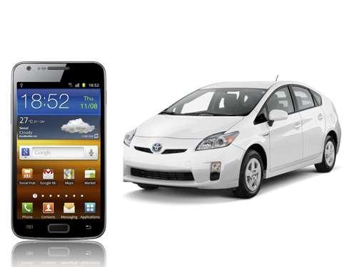 Toyota Samsung Car Mode app