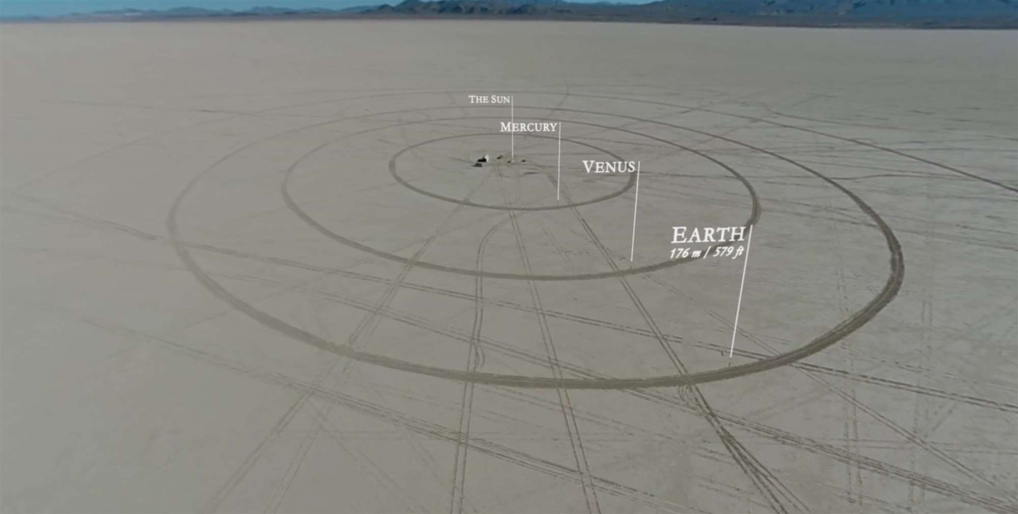 Watch People Build A Scale Model Of The Solar System In ...