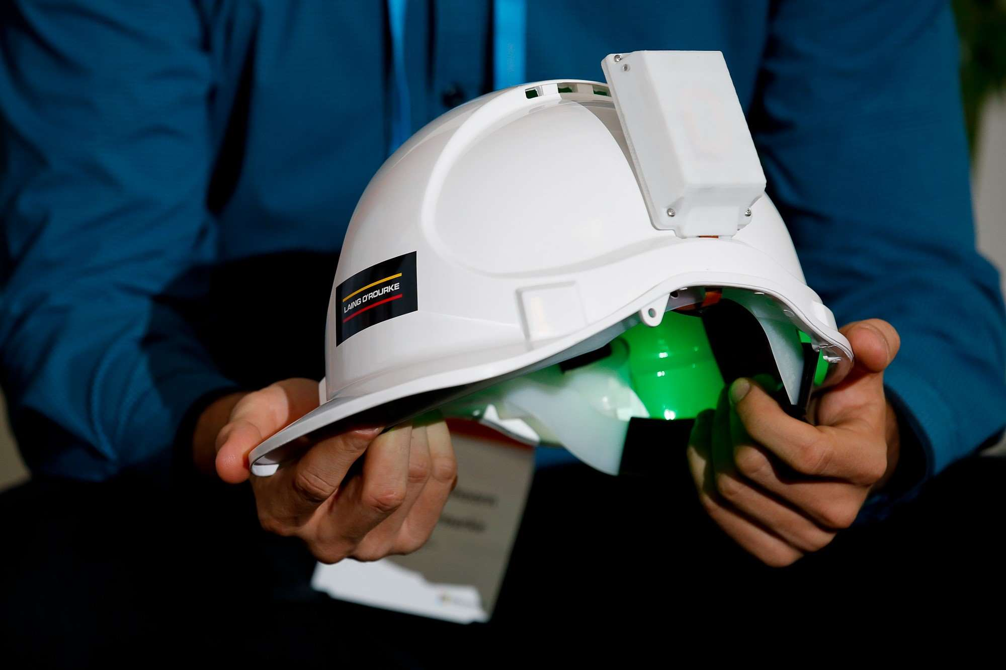 Laing O Rourke Brings Iot To Hard Hats Features Iot Hub