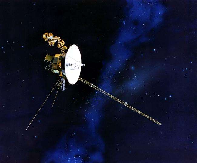 Us First Space Probe : Clear of solar pollution voyager glimpses star formation