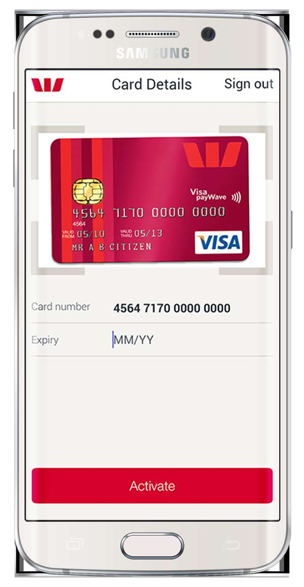 Westpac lets your smartphone\'s camera activate new bank cards ...