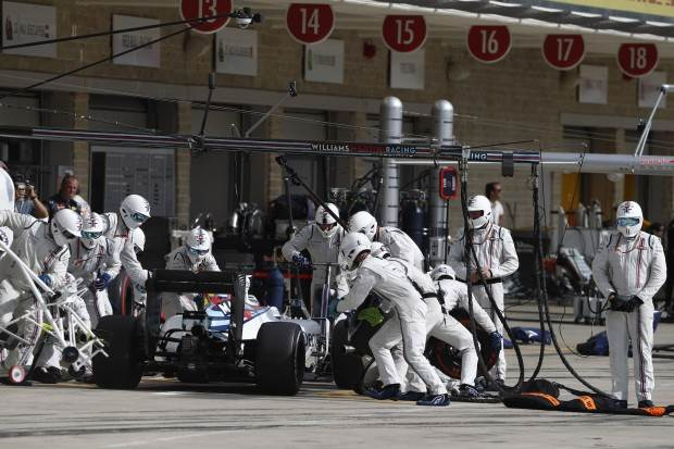 How the Williams F1 team used biometrics to make Formula One's fastest pitstop