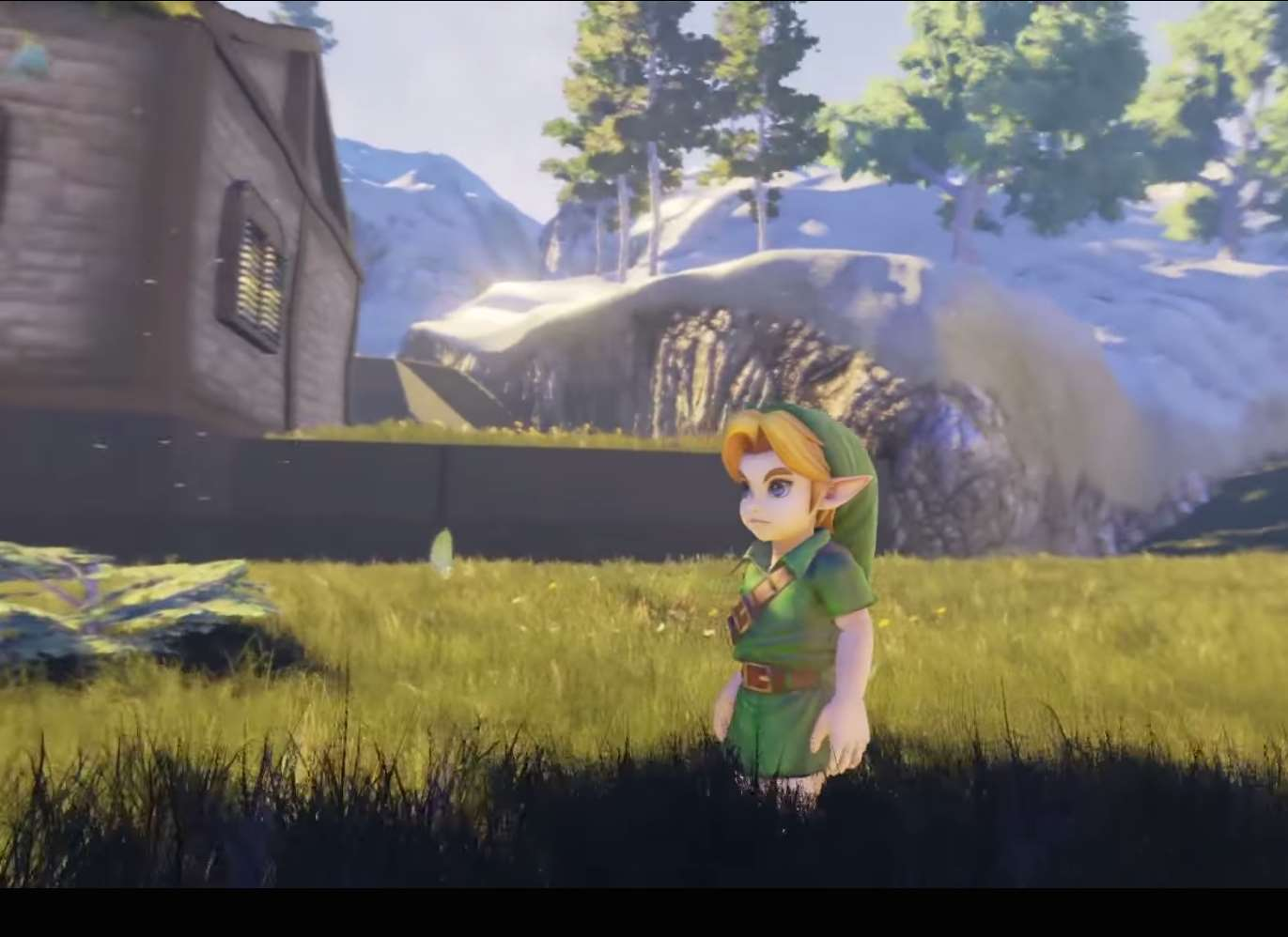 3e03197329ad Watch  Legend of Zelda  Ocarina Of Time  Location Come To Life With ...