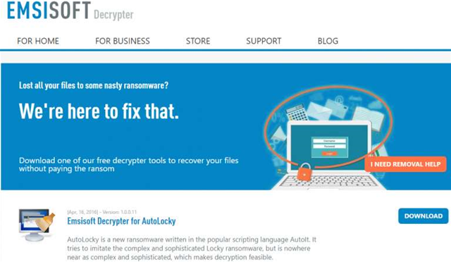 Emsisoft launches ransomware decrypter page | MMCC Blog
