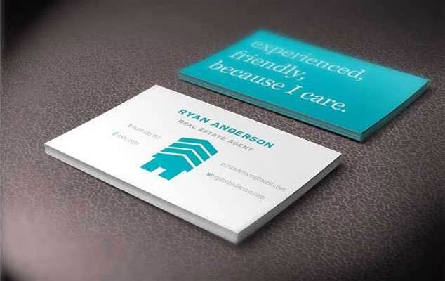 Now you can design business cards on your ipad bit for App to make business cards