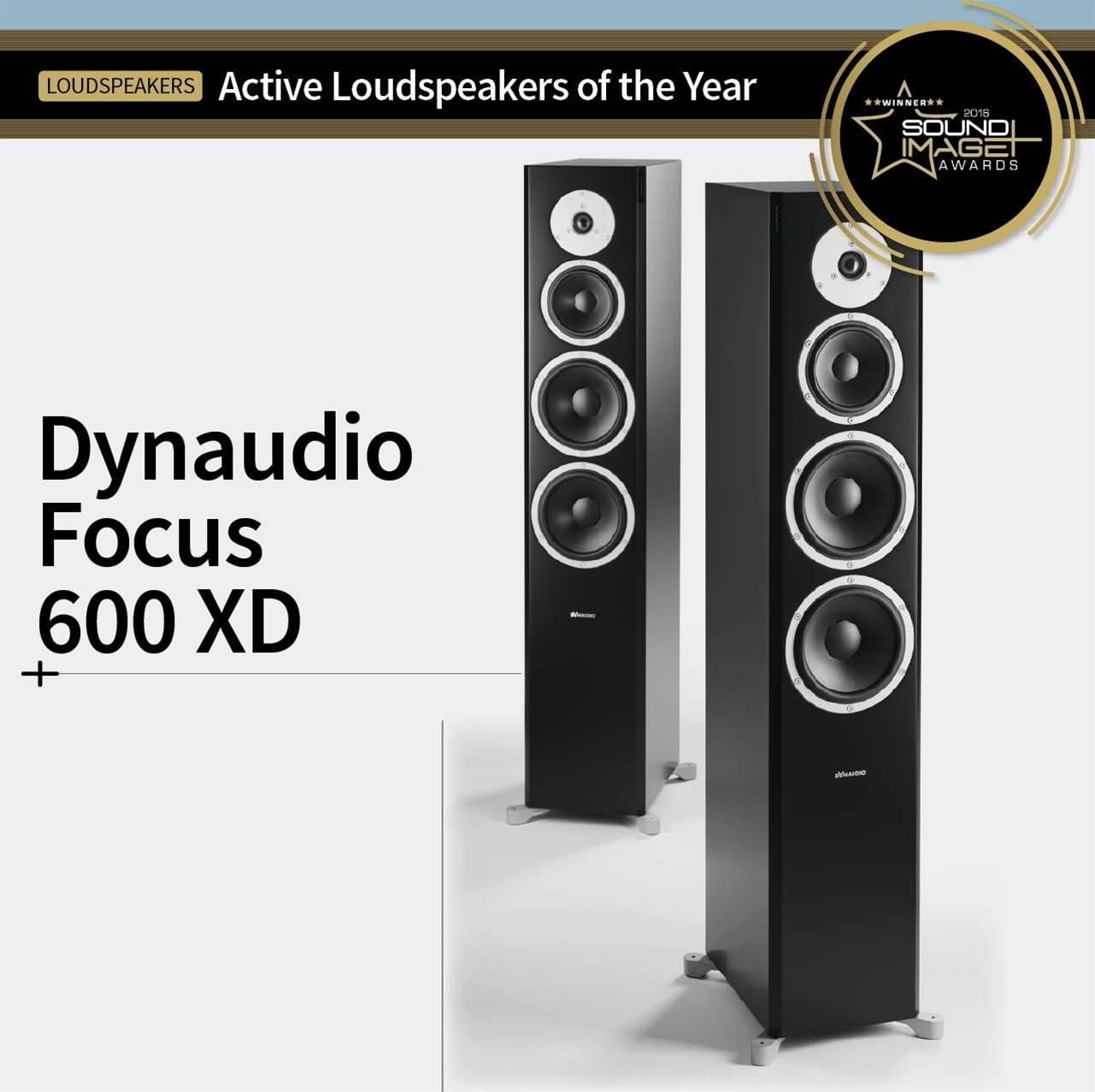 Dynaudio Focus 600XD active loudspeakers REVIEW