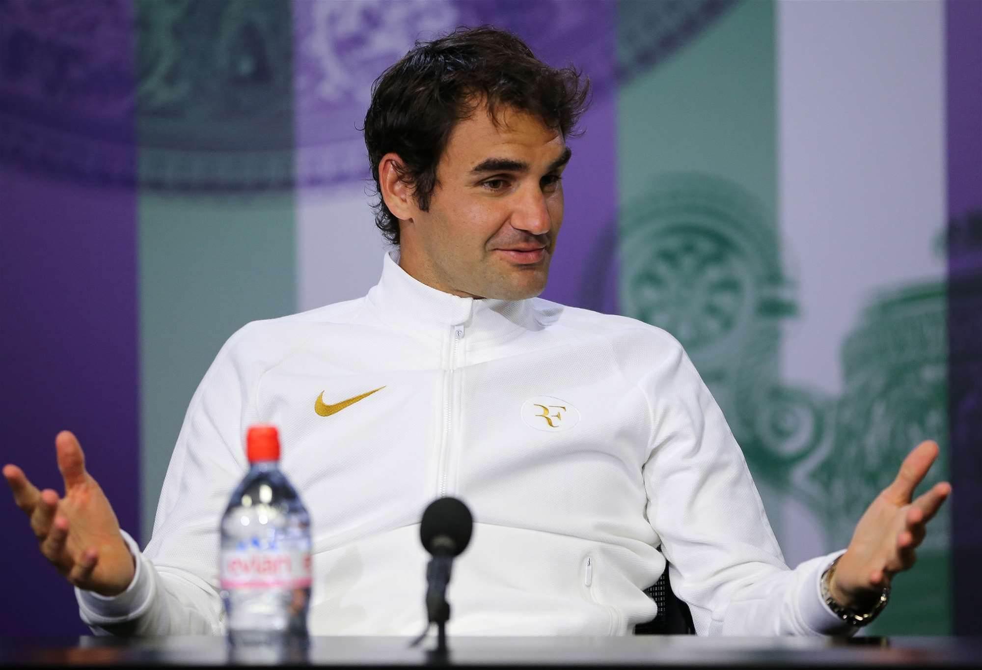 Federer's still a champion