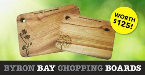 WIN 1 of 5 Byron Bay Chopping Boards