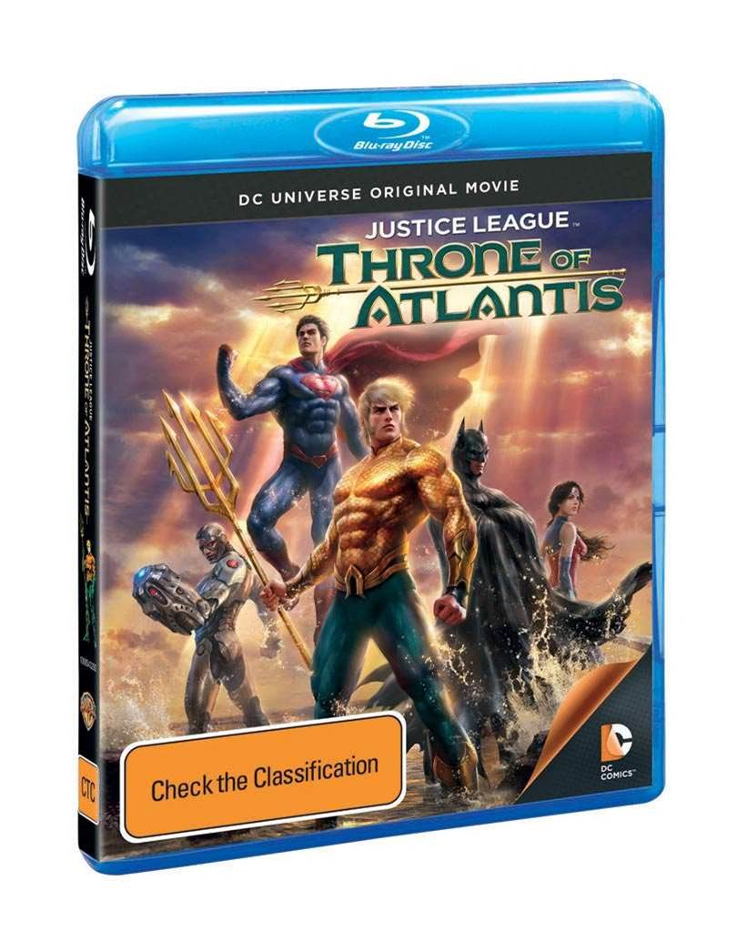 Win: Justice League: Throne of Atlantis