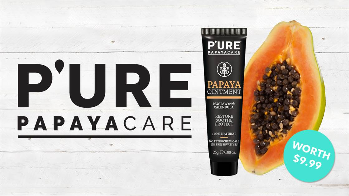 WIN 1 of 25 Pure Papaya Ointments!