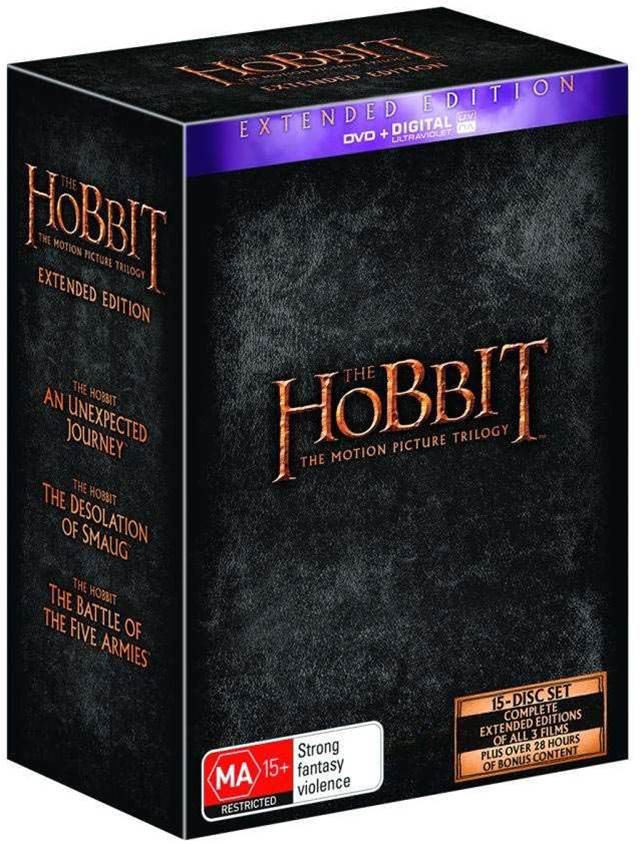 WIN!!! The Hobbit: Extended Edition