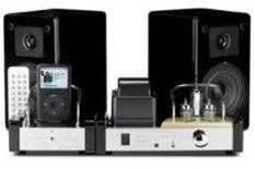 Fatman iTube Valve Dock with speakers