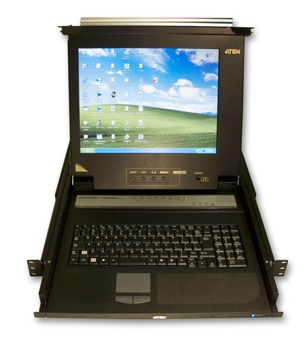Aten Masterview Max LCD KVM switch