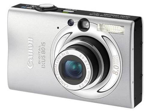 Canon Digital Ixus 80 IS vs Nikon Coolpix S520