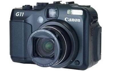 Canon PowerShot G11, bristling with features and top end image quality