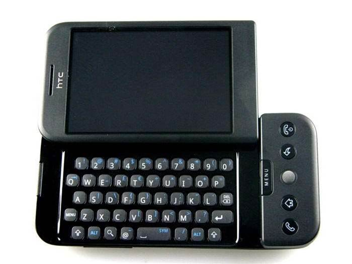 HTC Dream, a strange mix of cutting edge and the old fashioned