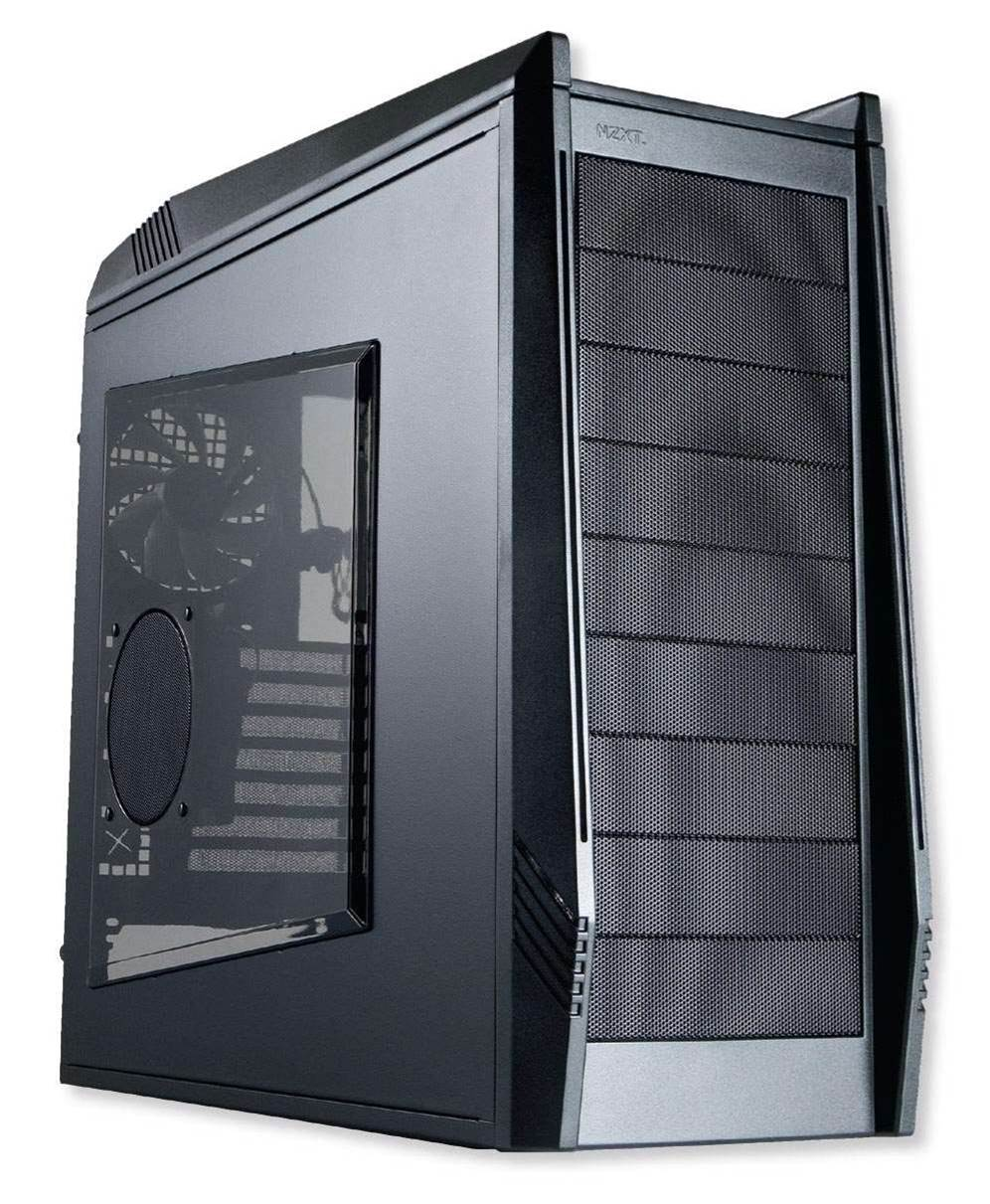 NZXT's Tempest Evo packed full of fans