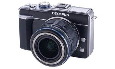 Olympus' PEN E-PL1, a retro-styled Micro Four Thirds camera