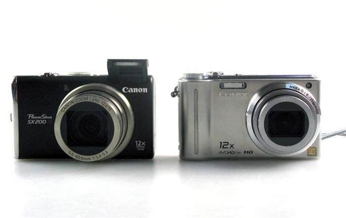 Unboxed: Canon Powershot SX200 IS and Panasonic Lumix DMC-TZ7