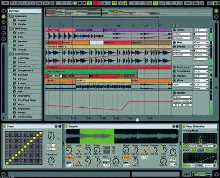Ableton Live 8 offers enormous scope for musicians to experiment