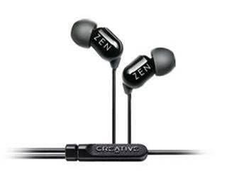 Creative Zen Aurvana in-ear earphones