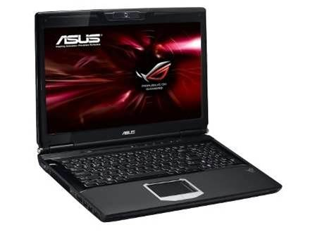 Asus G60J, an A-List laptop that runs the most demanding games at native resolution