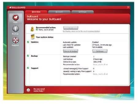 BullGuard Backup 8