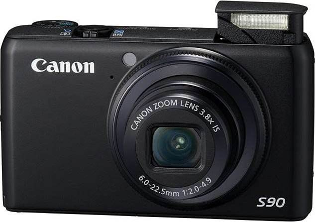 Canon's Powershot S90 features a G11 sensor in your pocket, for brilliant low-light pics