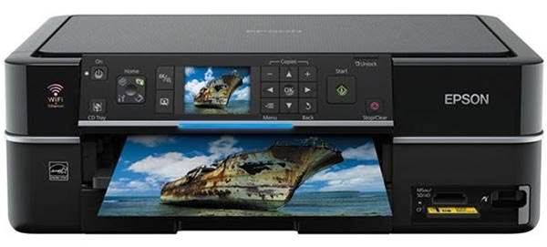 Epson's Stylus Photo TX710W, an excellent value photo printer and scanner