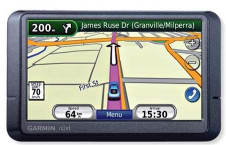 Garmin Nuvi 265W, clean navigating