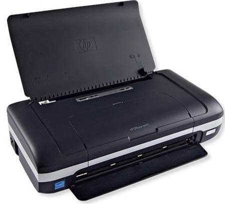 HP OfficeJet 470b, for printing in a tight spot