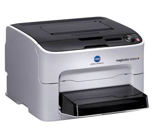 Konica Minolta's 1650EN can't escape the threat of high running costs