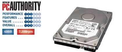 IBM: Deskstar 120GXP IC35L040AVVN07-0