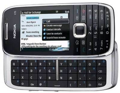 Nokia E75 mobile offers A-list flair and functionality