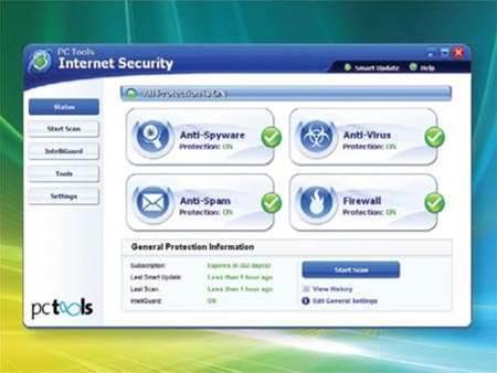 PC Tools Internet Security 2009