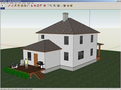 Google's SketchUp 7.1 is still among the best free modellers avaliable