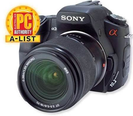 Sony Alpha A200, our new top pick for budget DSLR