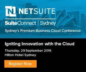 NETSUITE SuiteConnect Sydney Igniting Innovation with the Cloud