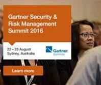 Gartner Security & Risk Management Summit 2016