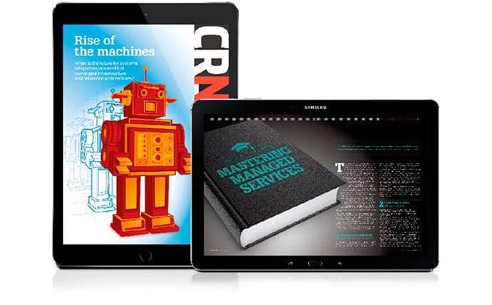 Get free issues of CRN magazine on your tablet