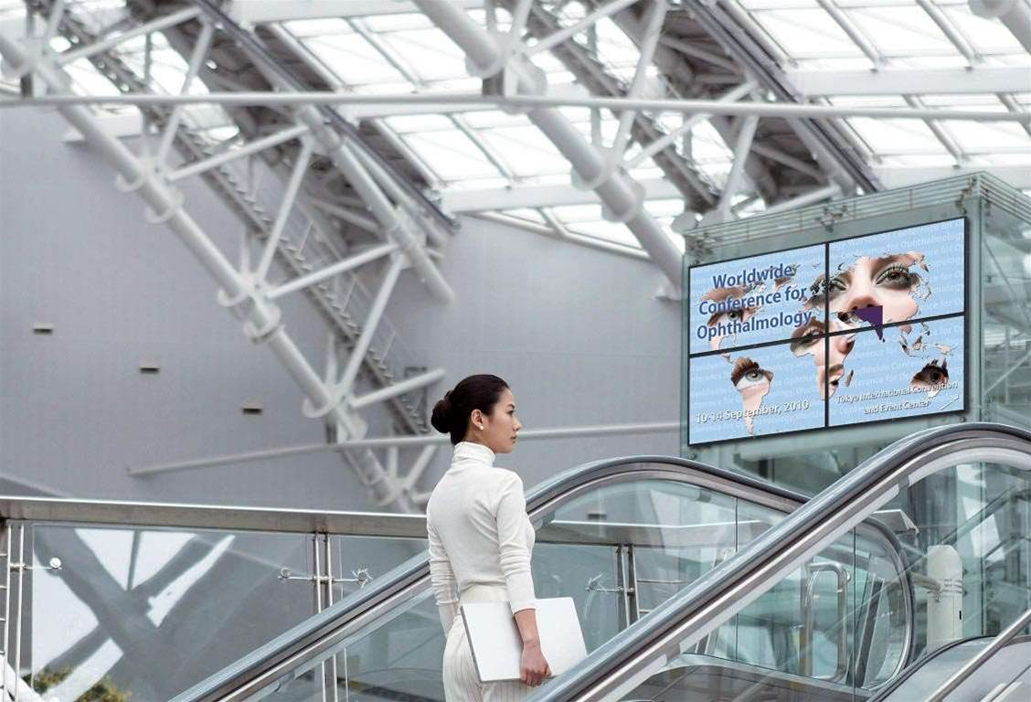 Digital signage: the picture is bright
