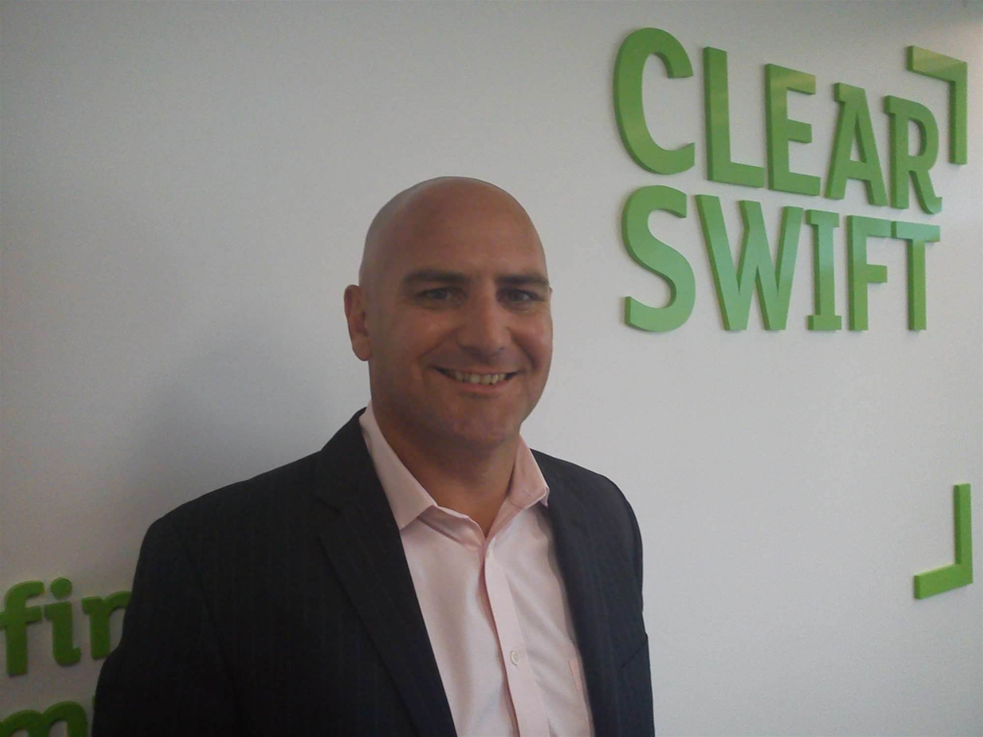 Clearswift has appointed Chris Barton as regional channel manager for Asia Pacific.<p> </p>Based at Clearswift's regional headquarters in Sydney, Barton is responsible for strategic channel planning and strategy.<p> </p>Formerly regional sales manager (NZ) at Websense, Barton has more than 10 years experience in the IT security industry.