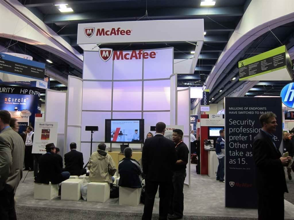 Photos: Budgets were back at RSA 2011 expo floor