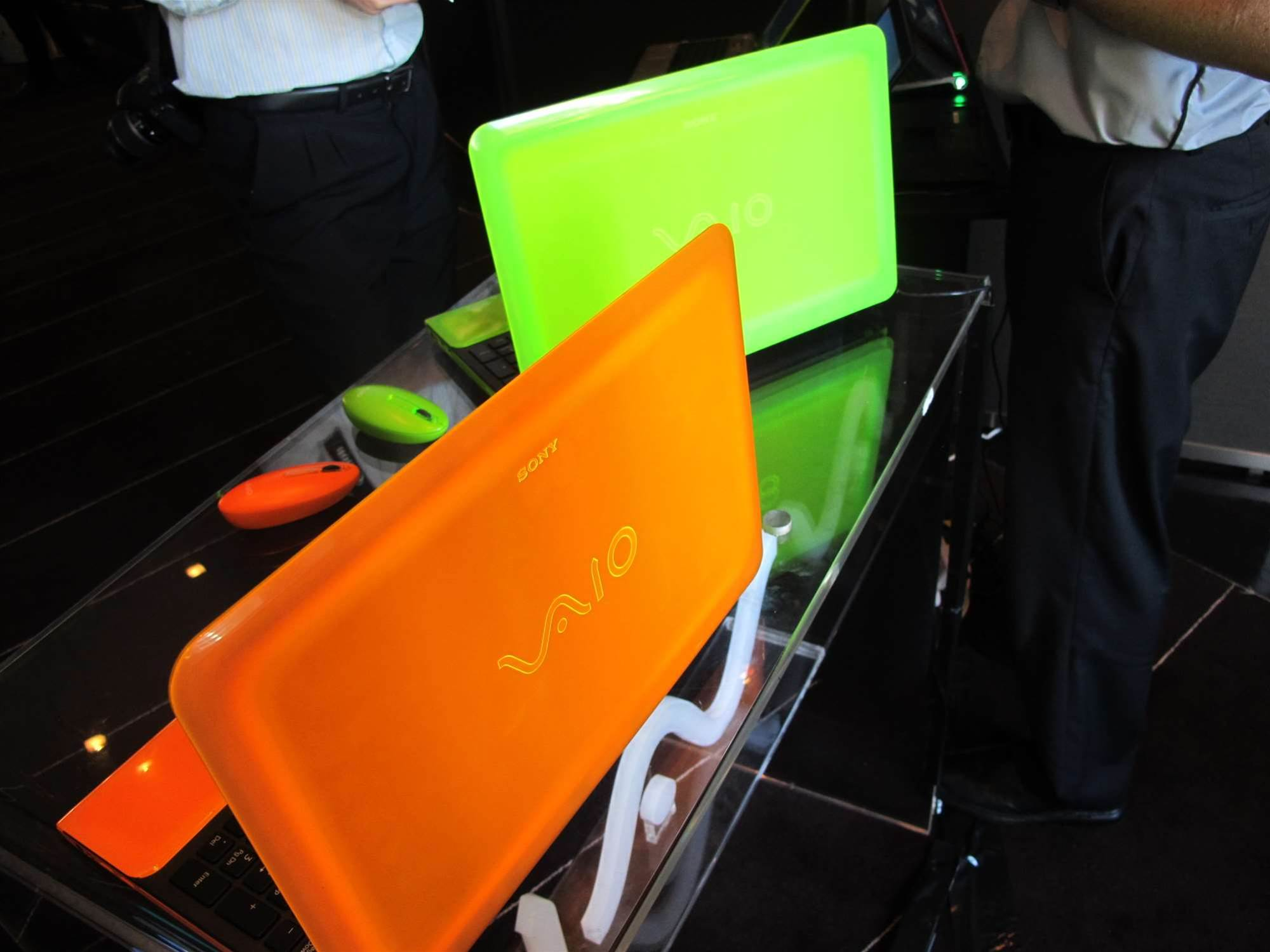 In Pictures: Sony Vaio C 'glow-in-the-dark' laptops