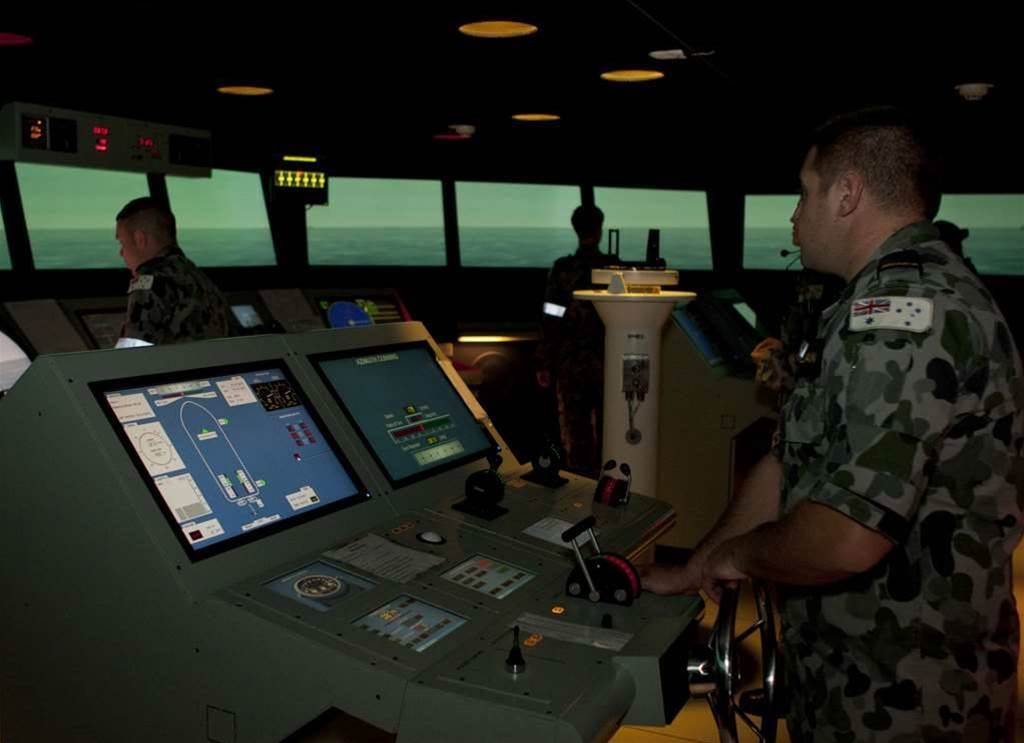 Junior officers in the Royal Australian Navy will learn to pilot the next generation of warships in the upgraded $10m training facility at HMAS Watson in Sydney.