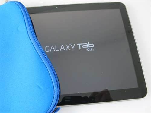 In pictures: Samsung Galaxy Tab 10.1 uboxed and tested
