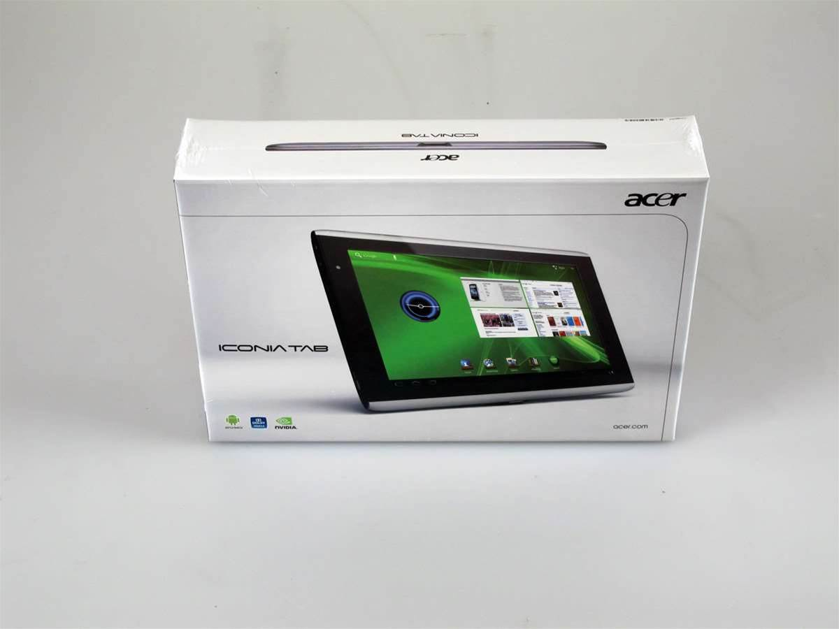 Unboxed: Acer's Honeycomb-powered A500 tablet vs the iPad 2