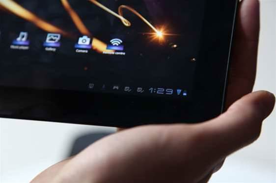 Sony made its play for those yet to buy a tablet by integrating its device into its product lineup and online services.