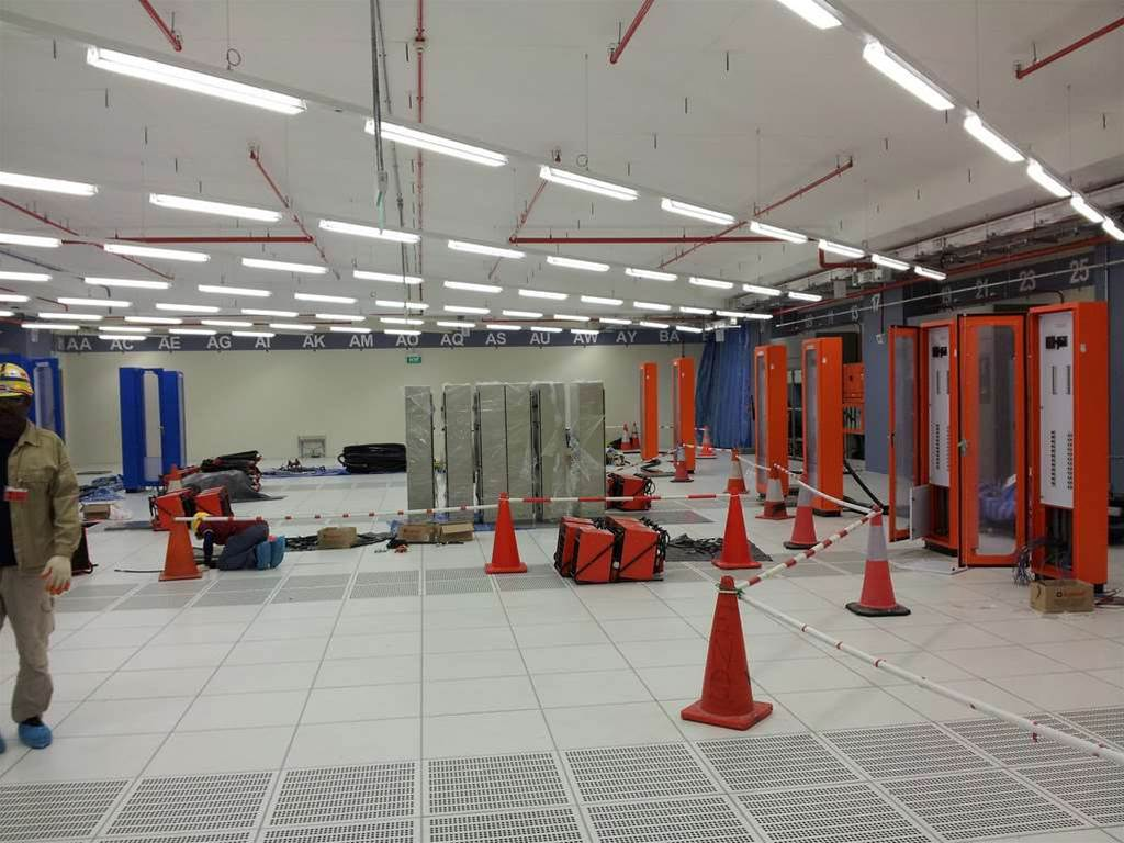 Photos: Inside Softlayer's Singapore pod data centre