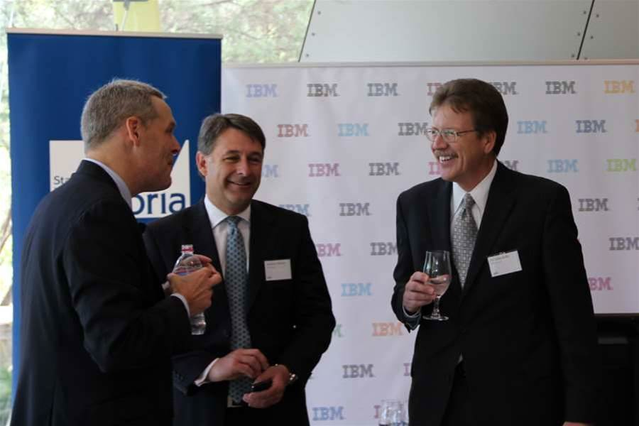 Wightwick, IBM Australia managing director Andrew Stevens and global research director John E Kelly III hosted delegates from universities and organisations including NICTA and NBN Co at the nearby Melbourne Museum for the launch.